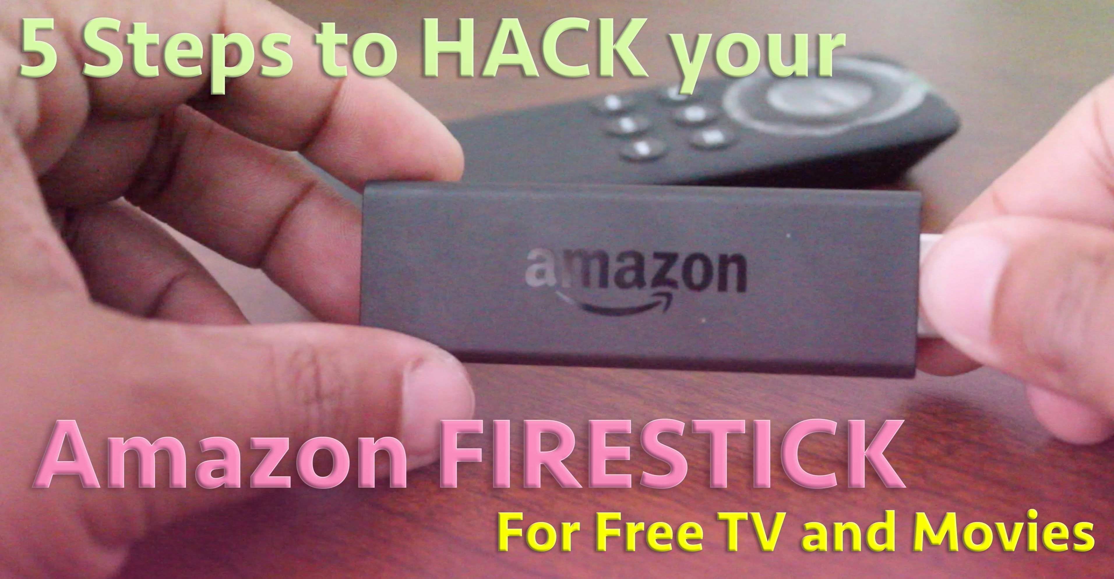 Amazon Firestick 5 STEP HACK FOR FREE TV AND MOVIES