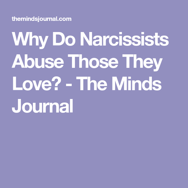 Do narcissists love