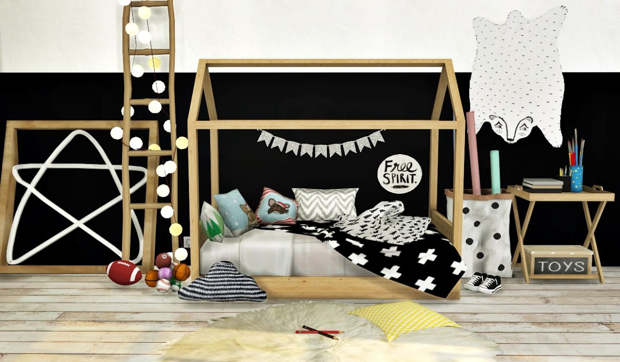 MXIMS Bambooko Toddlers Bed and Blanket Bambooko House