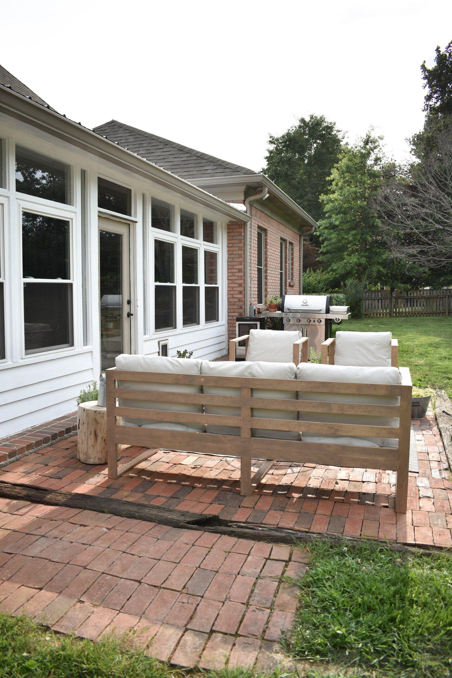 Diy modern outdoor sofa in 2020 modern outdoor sofas