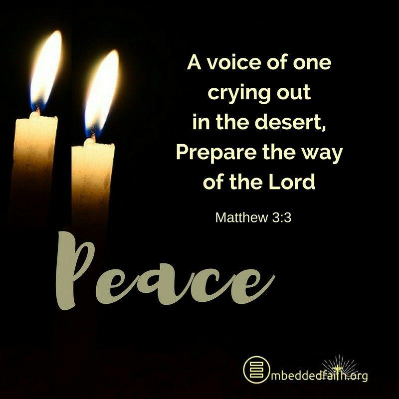 peace matthew 3 3 catholic peace advent prayer for. Black Bedroom Furniture Sets. Home Design Ideas