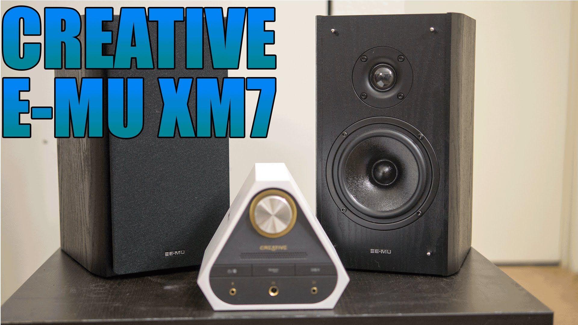 Cool Creative E MU XM7 Review 2016