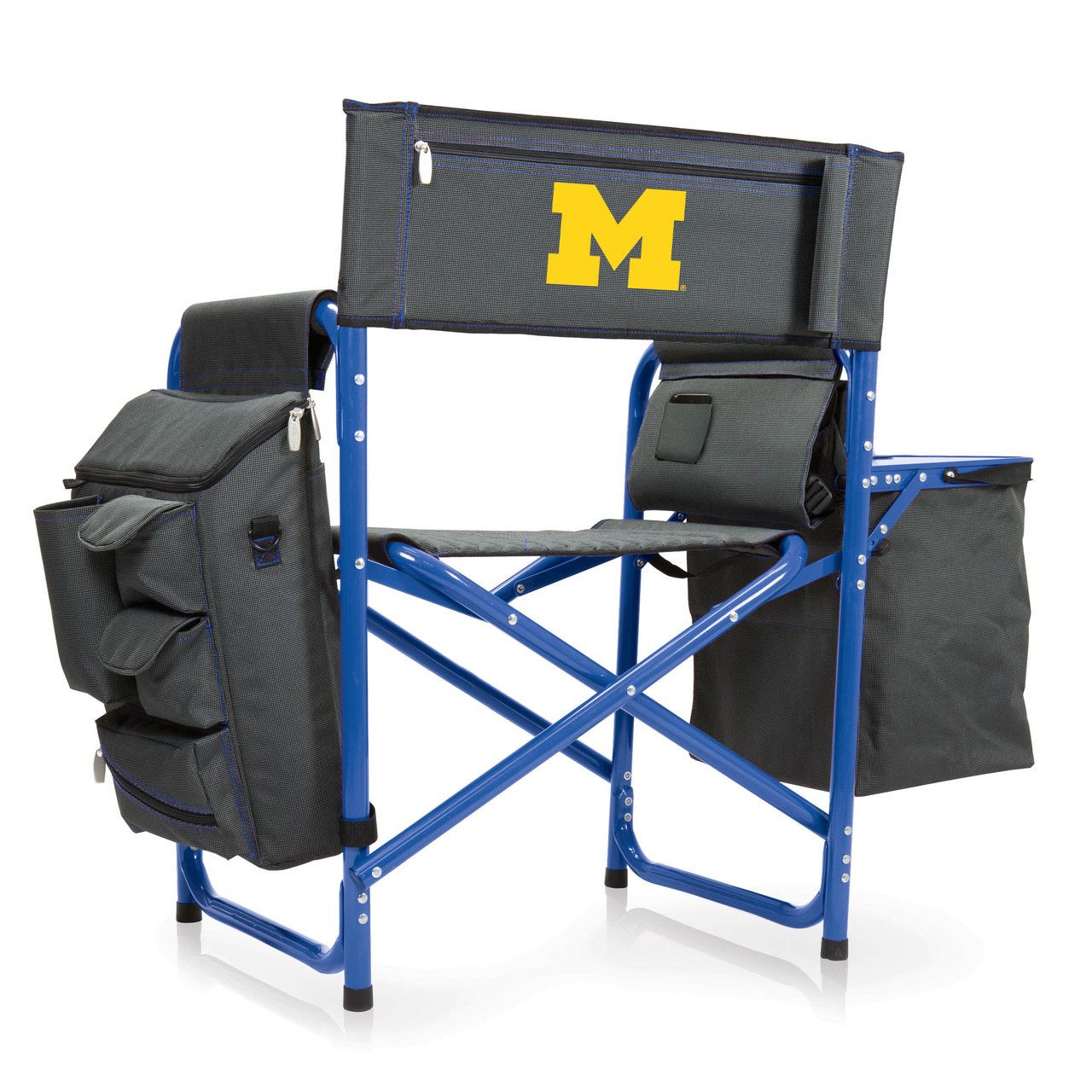 Michigan Wolverines Fusion Tailgating Chair Outdoor