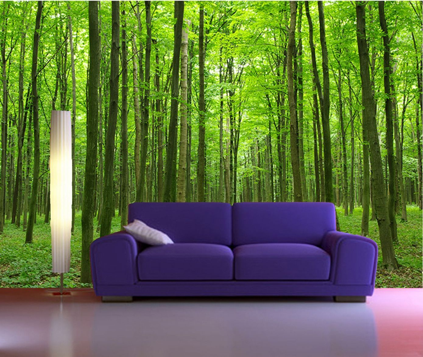Self Stick Wall Murals | Peel And Stick Photo Wall Mural, Decor Wallpapers  Forest Art Part 30