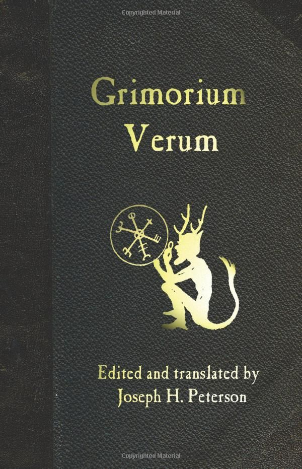 Ceremonial magick grimorium verum edited and translated by grimorium verum is one of the most notorious handbooks of black magick one of the few that deals openly with spirits of fandeluxe Images