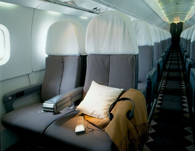 Air France Concorde Interior By Andree Putman