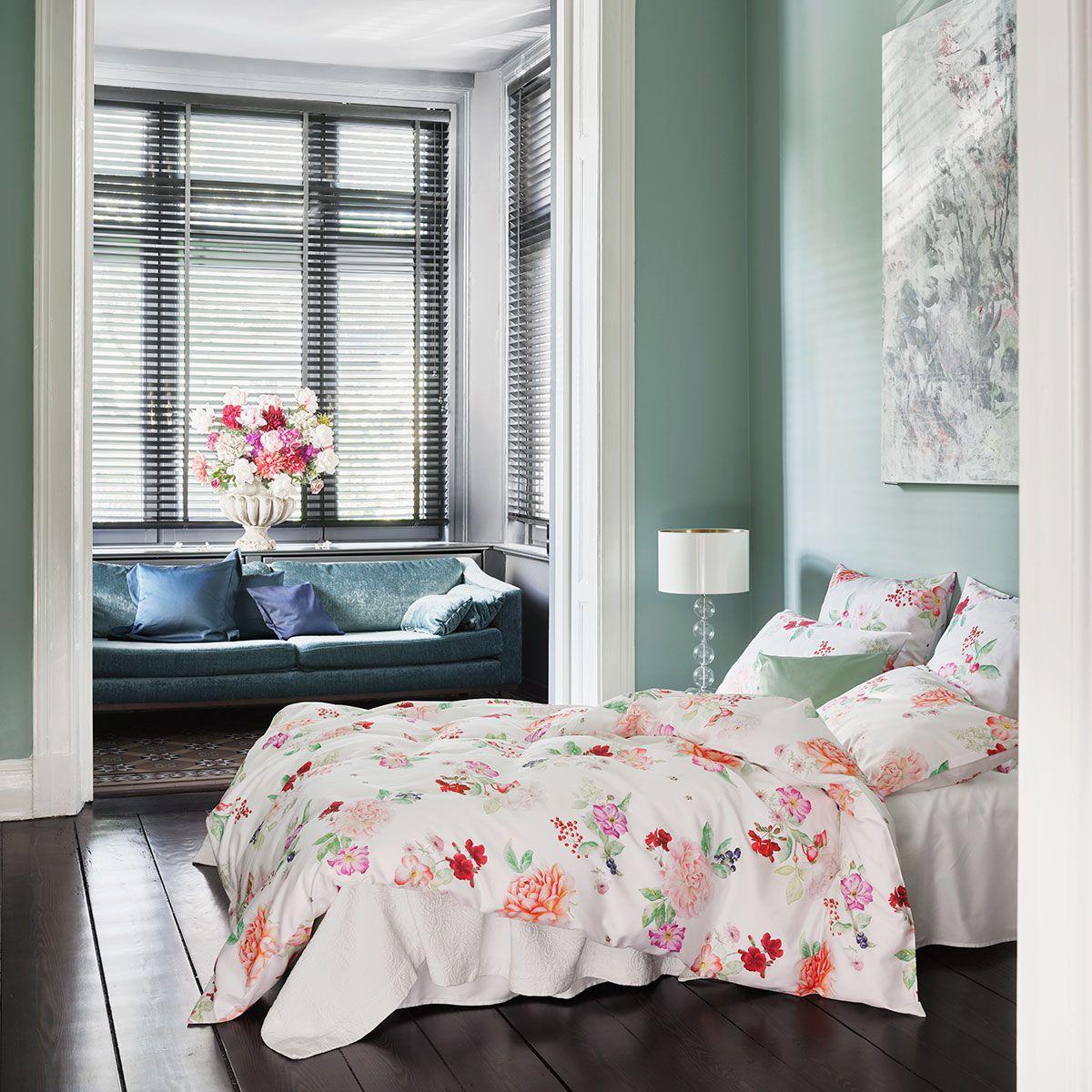 Rosa Floral Berry Die Klassische Schlossberg Bettwasche Mit Dem