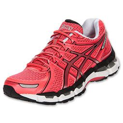 asics gel kayano red womens