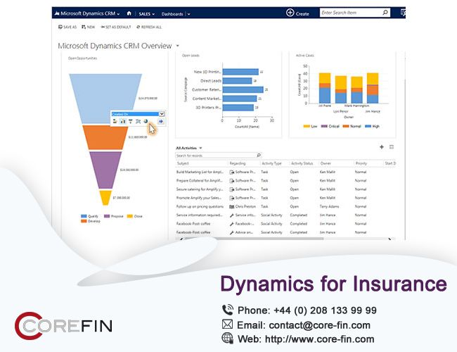 d1c758719 #COREFIN Insurance and our highly customized solutions can fulfill the  specific needs of your insurance