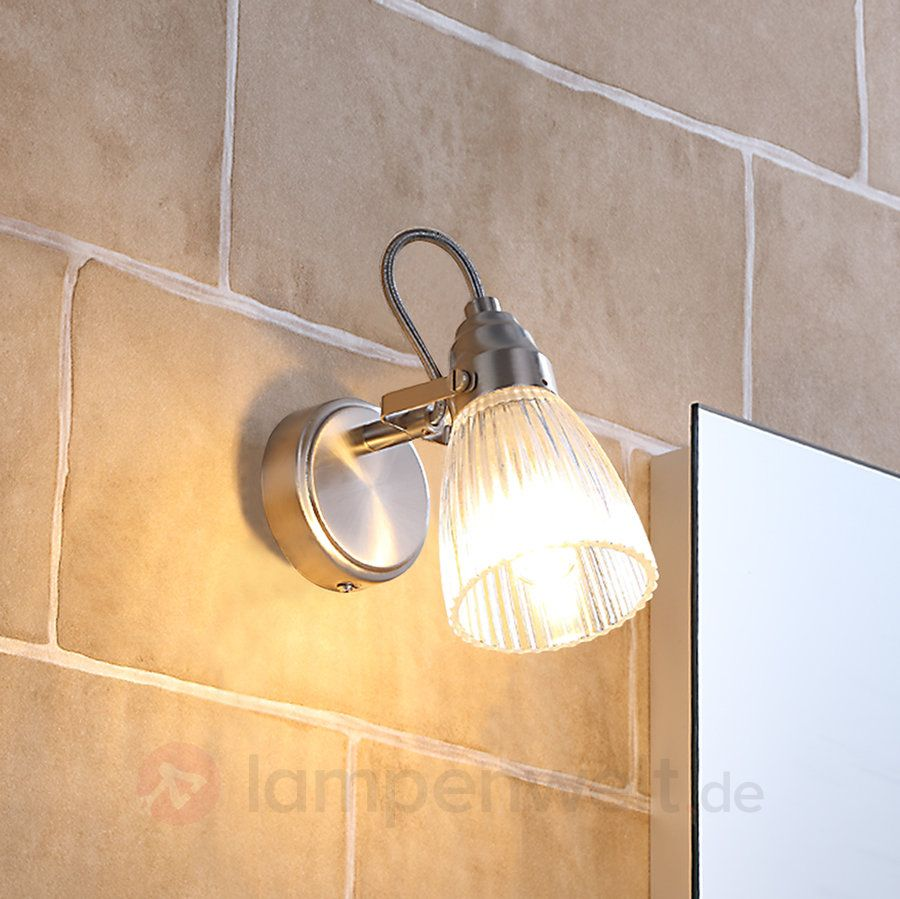 Ip44 Lampe Bad Wandleuchte Kara Mit Led 1 Flg Ip44 Lighting Wall Lights