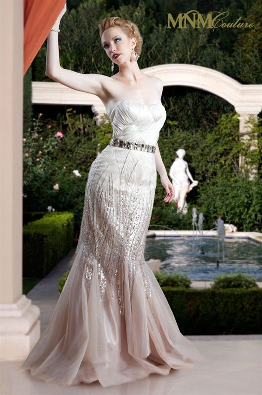Charbel Nader MNM Couture 5231 Evening Dress Onlineformals.com