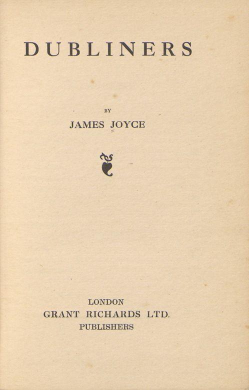 James Joyce, Dubliners