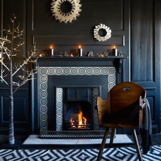 Schwarz-Weiß-Grafik Wohnzimmer Wohnideen Home Design Pinterest - wohnzimmer lila weis