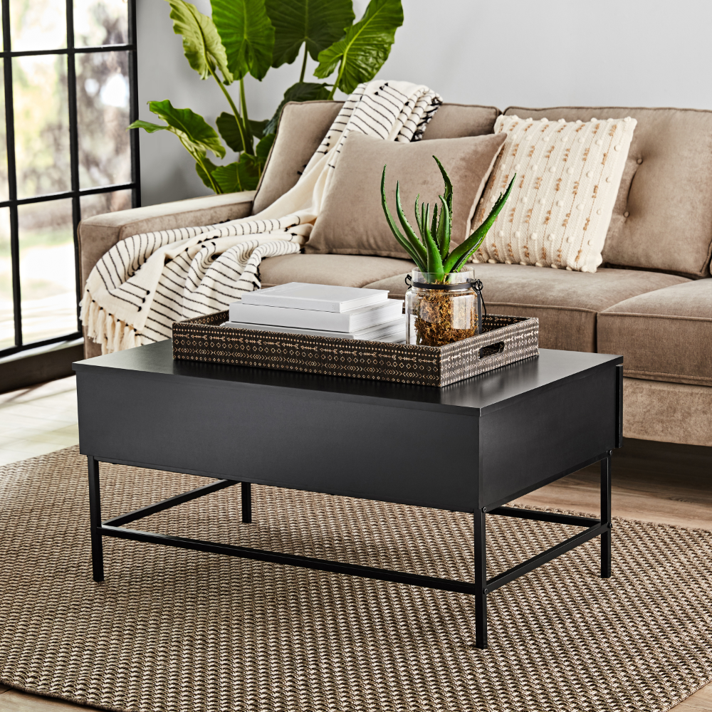 mainstays sumpter park coffee table multiple finishes