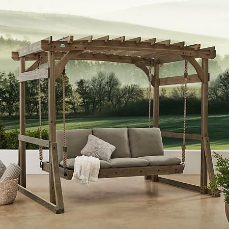 Backyard Discovery Claremont Lounger | Outdoor bed swing ... on Backyard Discovery Pavilion id=81171