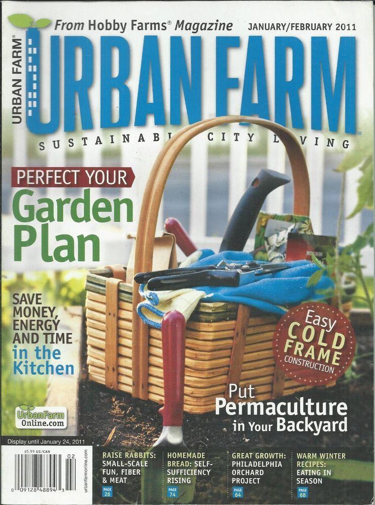 Beau Urban Farm Magazine Garden Plan Backyard Permaculture Cold Frame  Construction