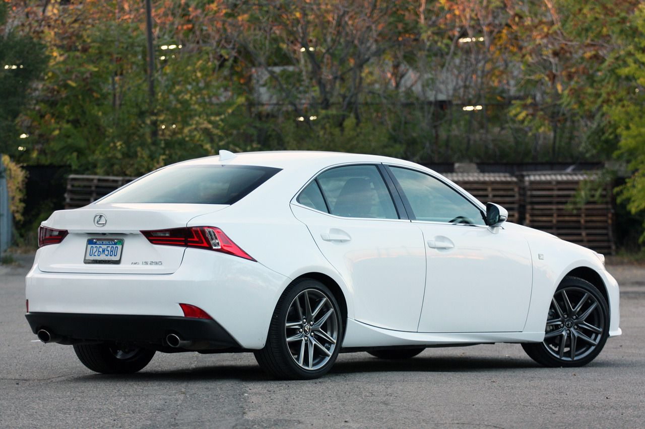 2014 Lexus IS 250 AWD F Sport - right rear qtr | Cars I Love ...
