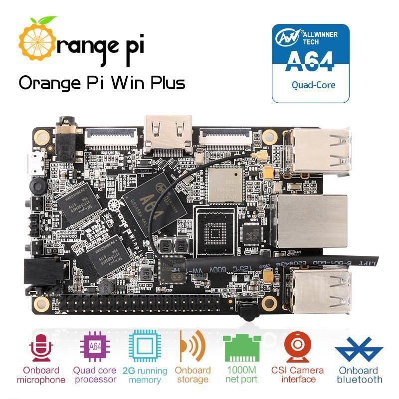 Orange Pi Zero Plus2 H5 Quad-core Wifi Bluetooth mini PC