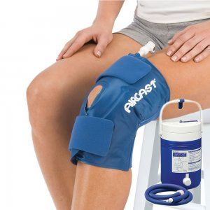 Knee Rehab Aircast Knee Cryo Cuff With Cooler From Physioroom
