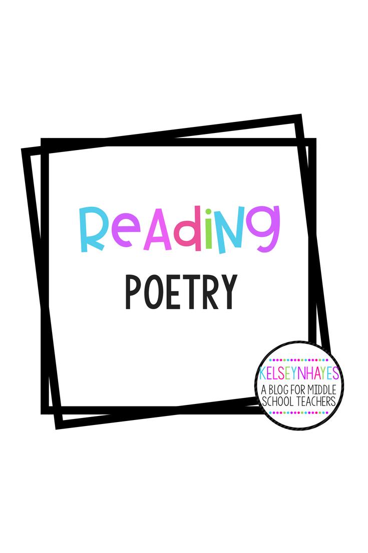 Pin by Teacher Blogger Seller Network on Reading-Poetry