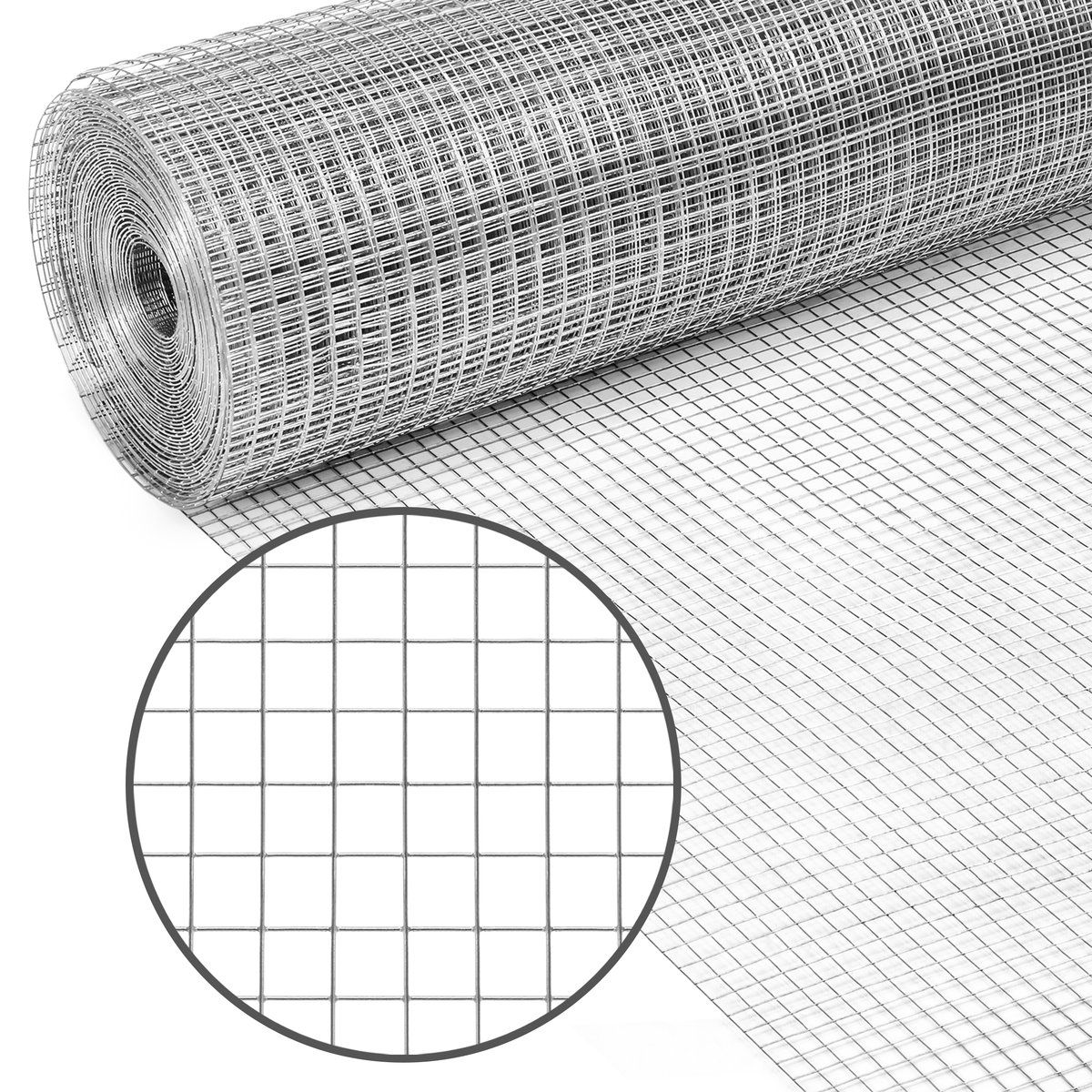 3x50ft Multipurpose 19 Gauge Galvanized Welded Chicken Wire Mesh Fence In 2020 Wire Mesh Fence Mesh Fencing Hardware Cloth