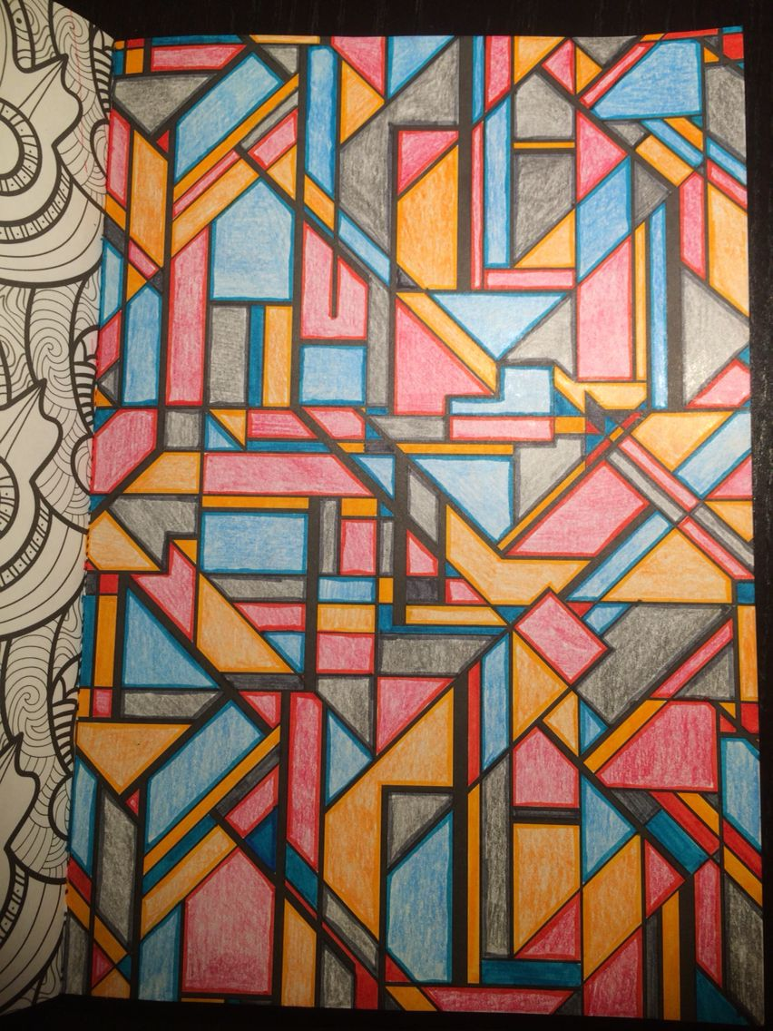 Het Tweede Enige Echte Kleurboek Voor Volwassenen Stabilo 68 Nr 48