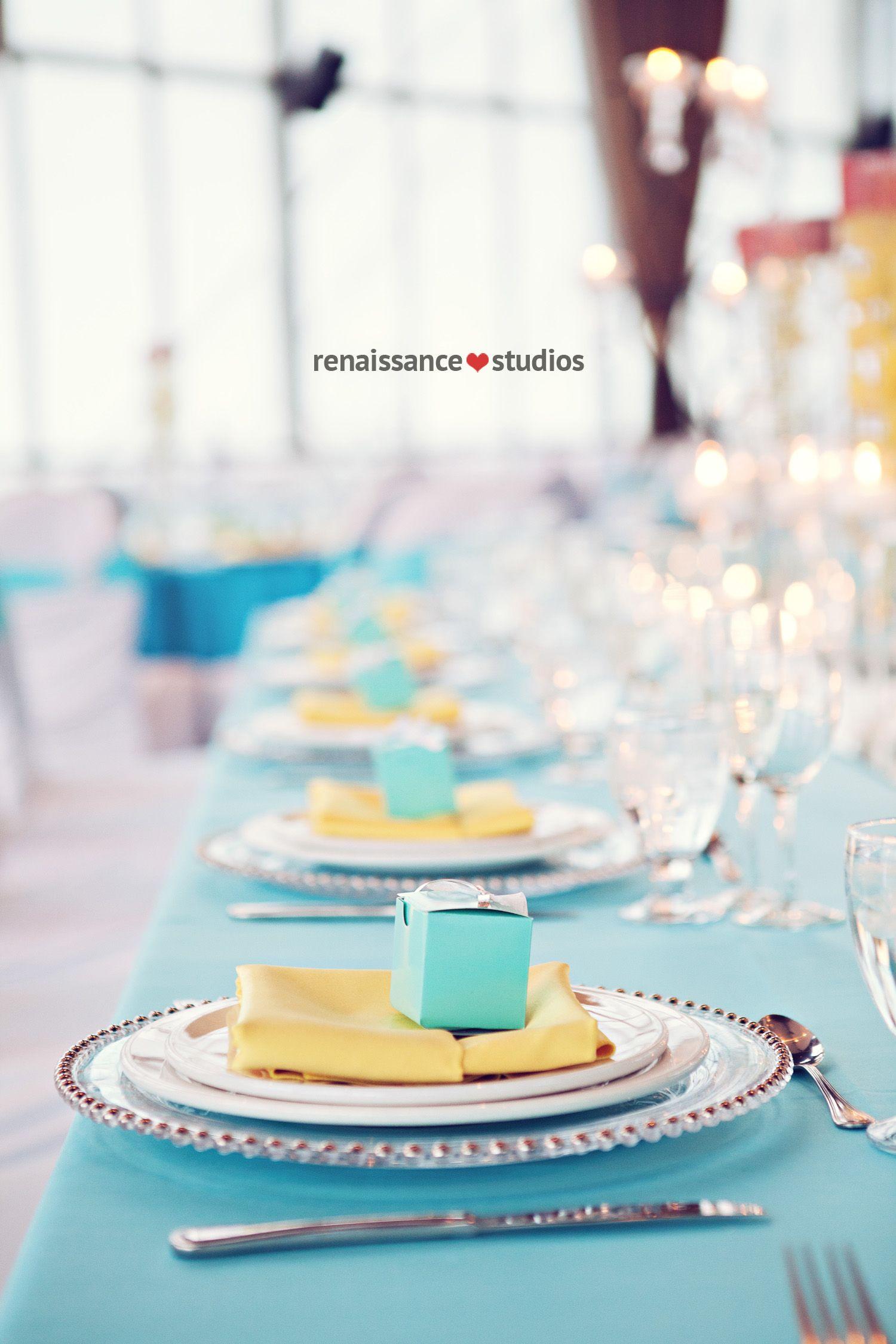 Turquoise white and yellow wedding theme | My wedding ...