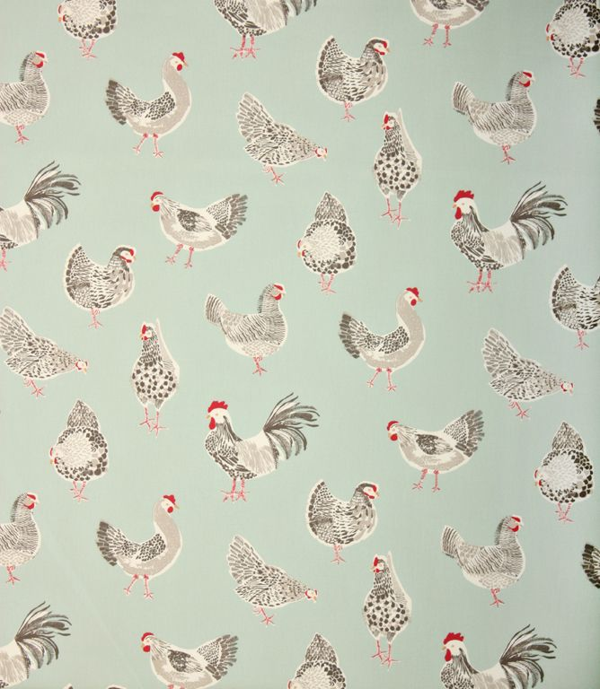 Great Fabric For A Country Style Kitchen. Available In A