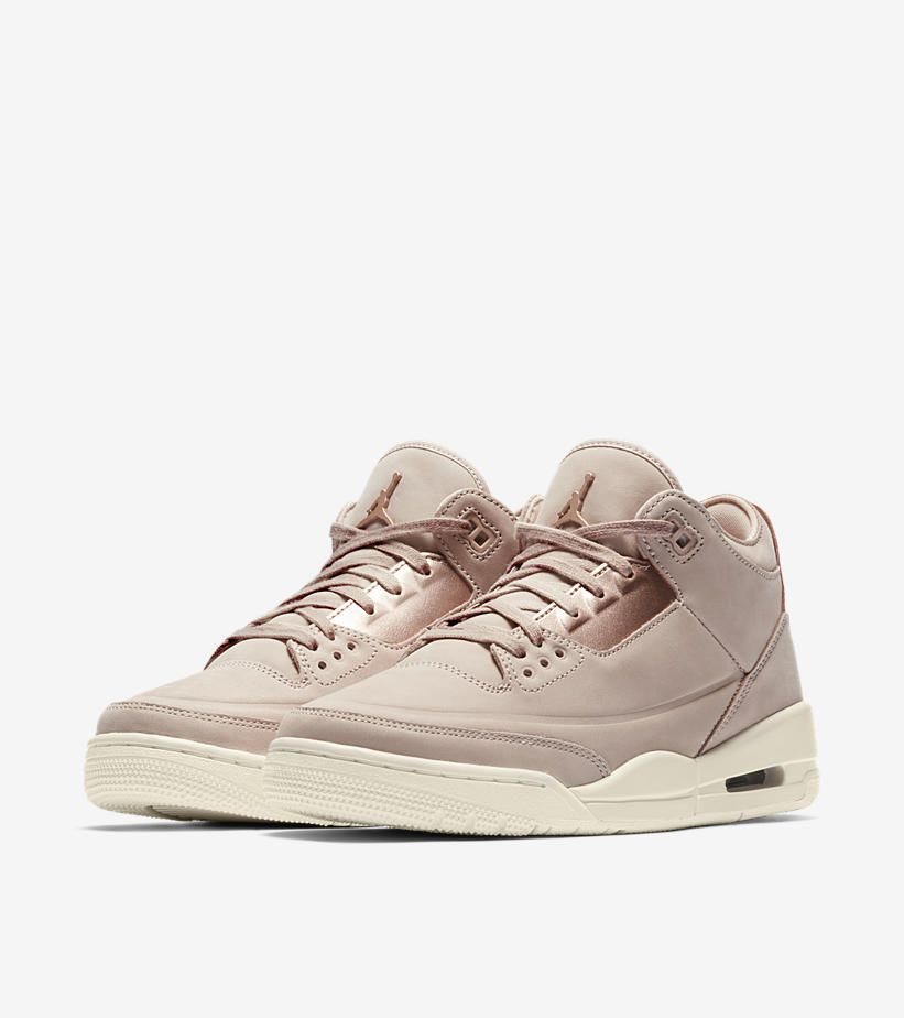 purchase cheap 0f737 76b2d Women s Air Jordan III (3) Retro  Particle Beige   Metallic Red Bronze   -Release Date  Friday, June 8th 2018 -Price   180