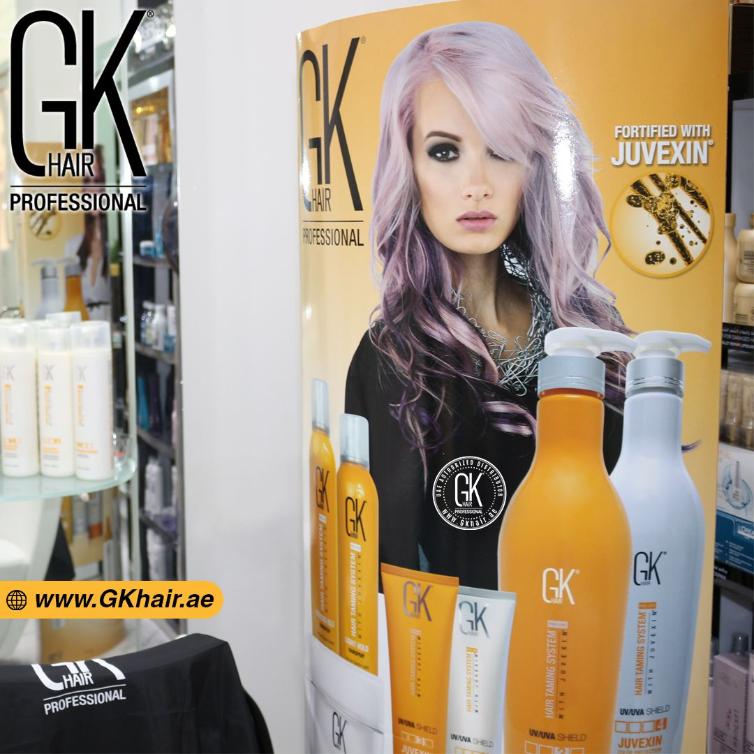 A complete solution for hair color and after care with the