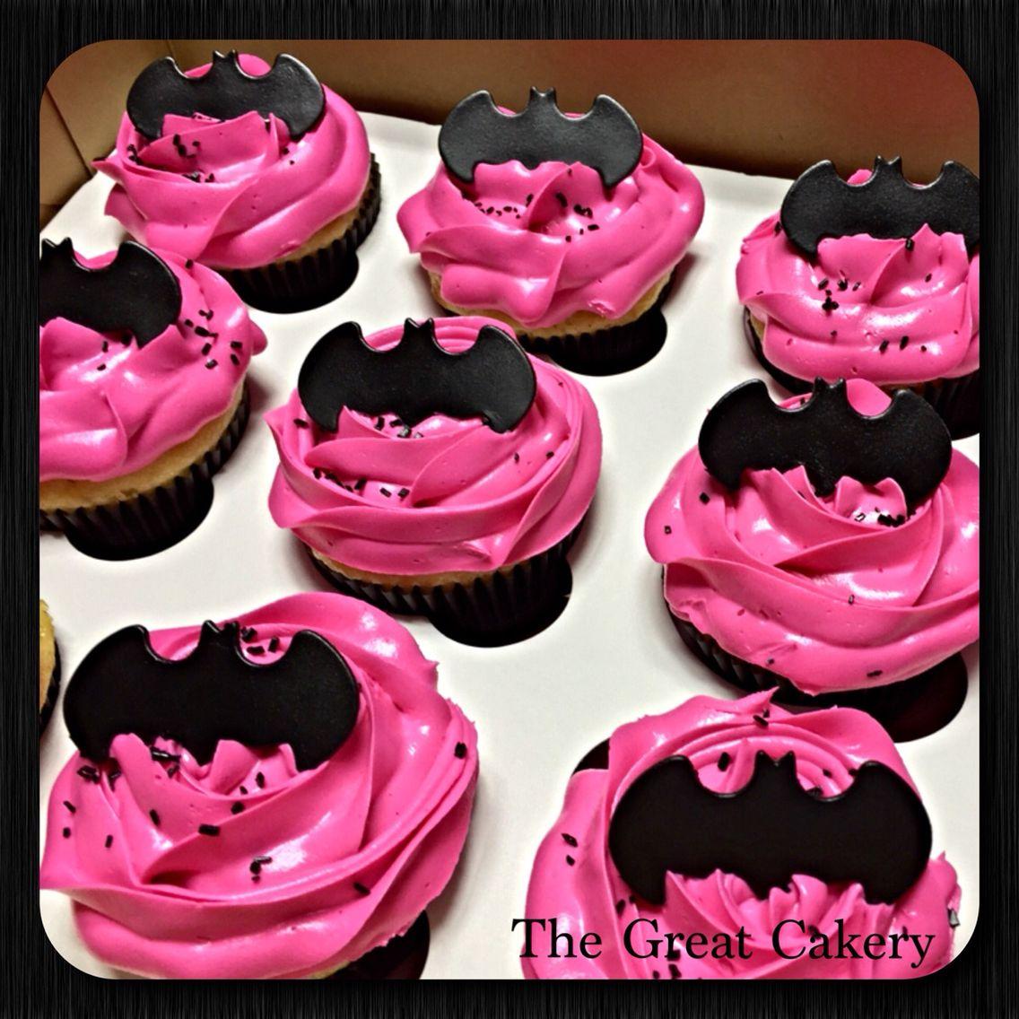 batgirl cupcakes