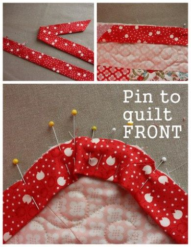 Bias Bindings and rounded quilt corners 101 | Bias binding, Corner ... : bias binding for quilt - Adamdwight.com