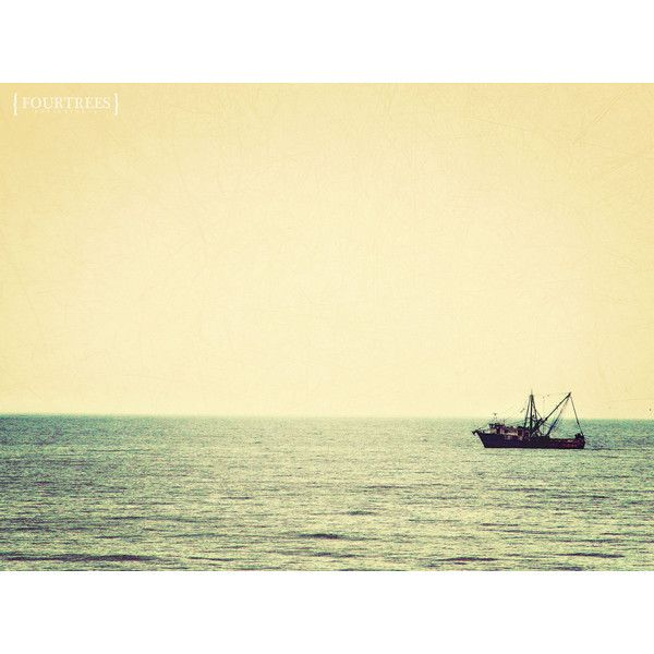 Into The Mystic - 8x10 Sea photography photo print home decor wall art... ($22) ❤ liked on Polyvore