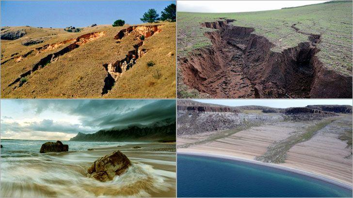 Erozyon, yer kabuğunda bulunan toprakların, dış etkenlerle aşındırılması (akarsular gibi), yerinden koparılması, bir ortamdan başka bir ortama taşınması ve biriktirilmesi olayıdır (aşınım). Erozyon, tarımda kullandığımız alanların yaklaşık %70'lik bir bölümü özelliklerini kaybetmiş ve dünyanın kara yüzeyinde %30'luk bir çölleşmeye neden olmuştur.