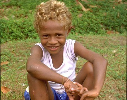 Pin On Black People With Natural Blonde Hair Or Blue Eyes