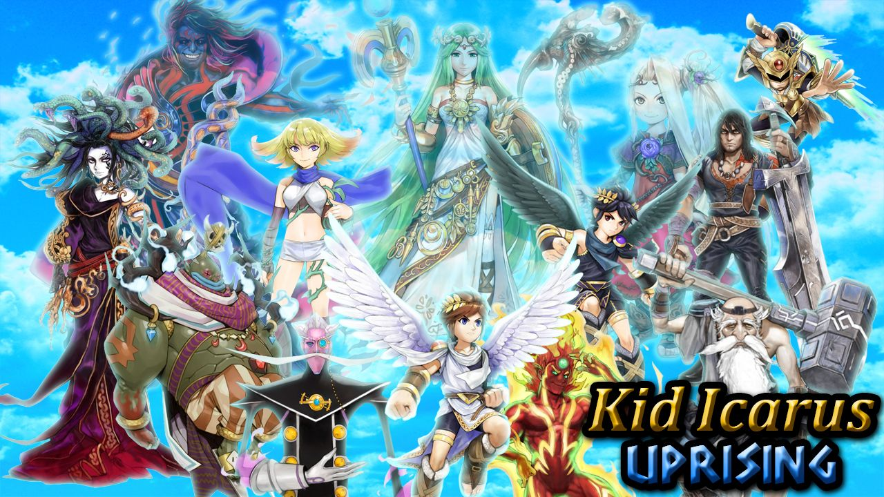 Kid Icarus Uprising Background By ChrisMeier018deviantart On DeviantART