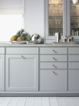 """Image result for kitchens with 24"""" high space between counter and upper cabinet"""