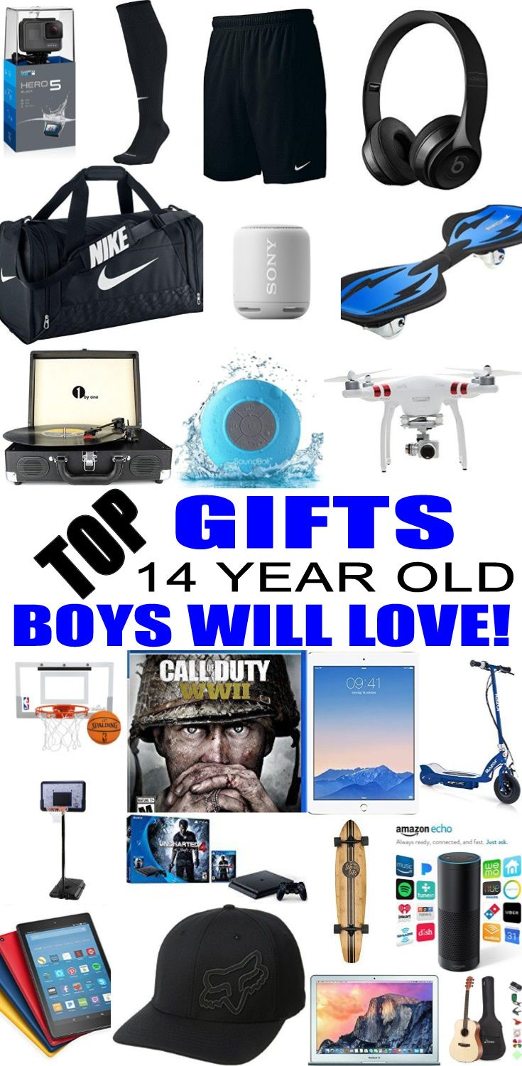 Top Gifts For 14 Year Old Boys Best Gift Suggestions Presents Fourteenth Birthday Or Christmas Find The Ideas A 14th Bday