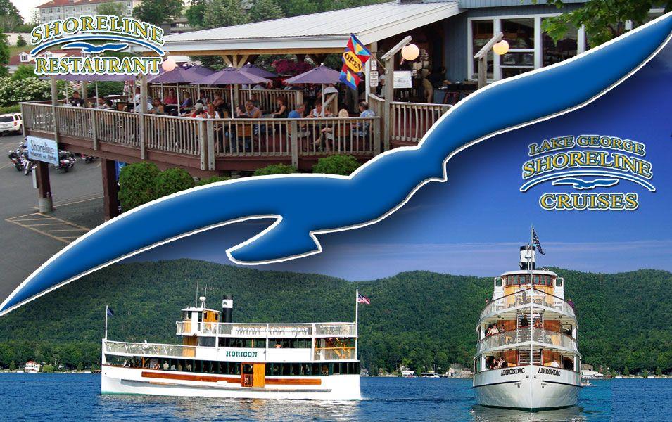 Lake cruises on the adirondac horicon lake