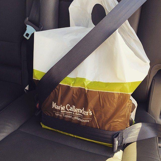 Safety first!  PC: Instagram user @storabi74 #MarieCallenders #LOL #Pie