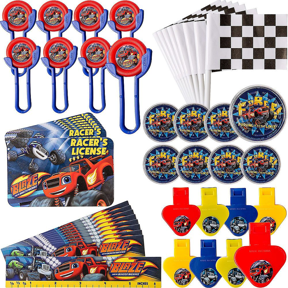 Blaze and the monster machines favor pack 48pc image 1