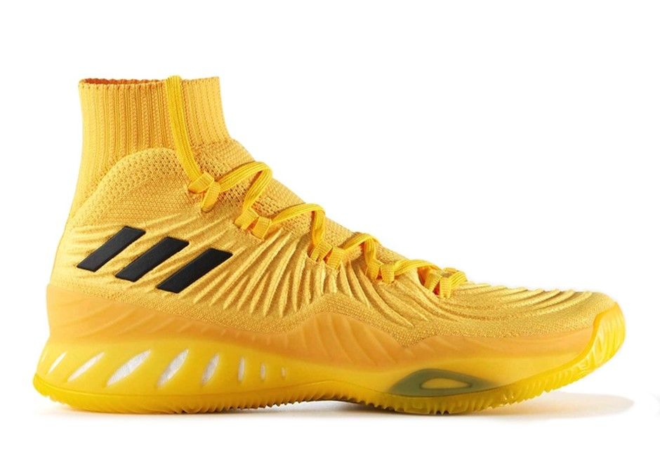 Adidas Crazy Explosive 17 PK Yellow BY4472 | Retro shoes