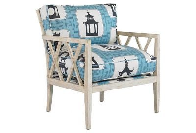 #Duralee Thomas Paul #pagoda fabric called #Folly in a gorgeous #Blue (Aqua).  Available to purchase at Fabric Living; http://fabricliving.com/product/duralee/fabric/c-1192-p-5813-dl-20959-folly-by-duralee.