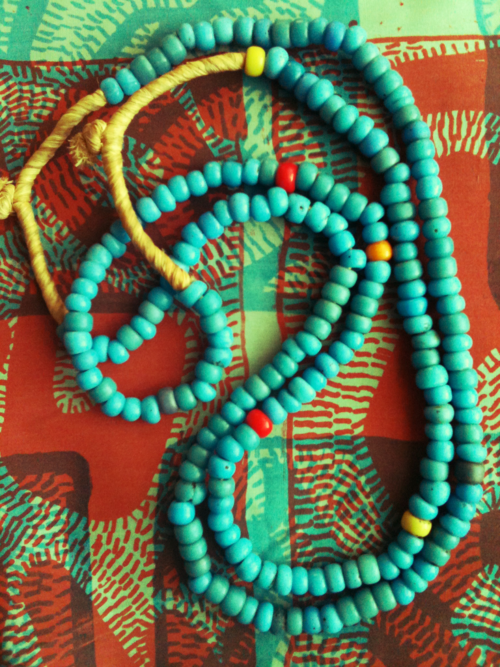 Beautiful colourful mala