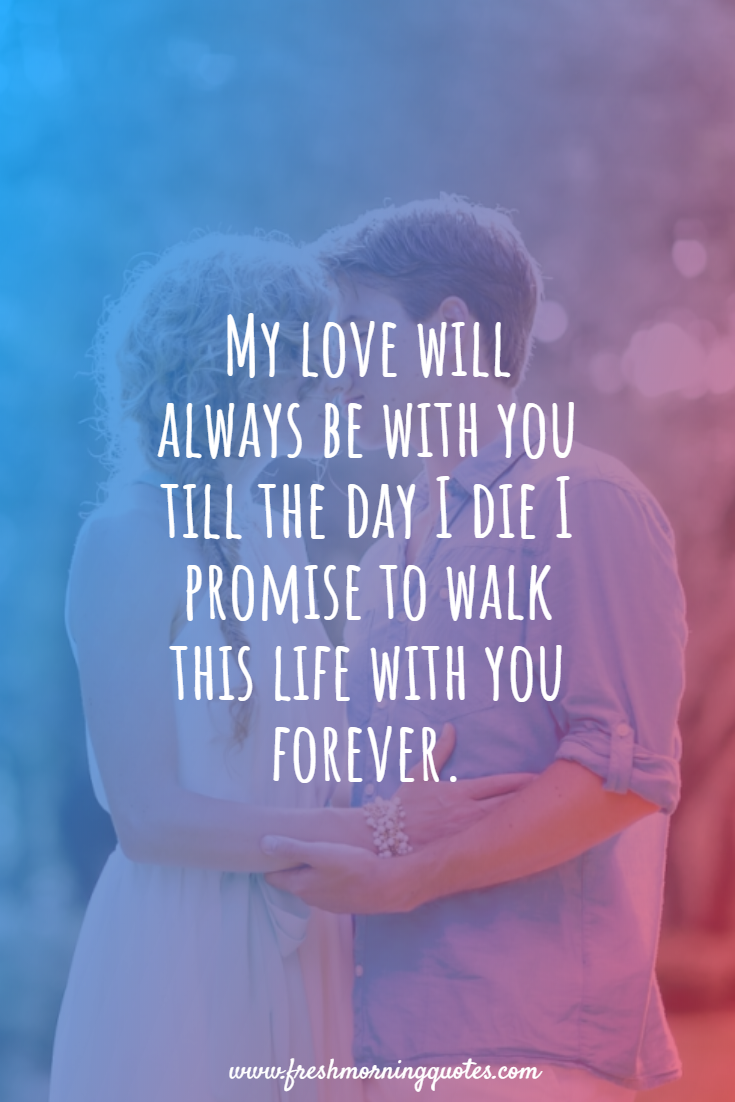 9+ Heart touching Love Promise Quotes - Freshmorningquotes