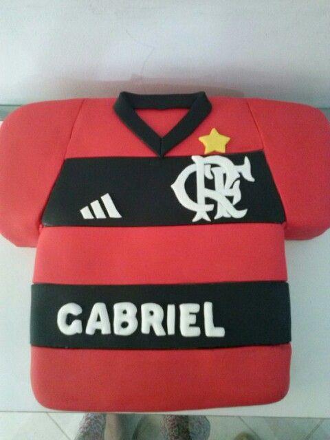 aba4af35e0 Bolo camisa Flamengo