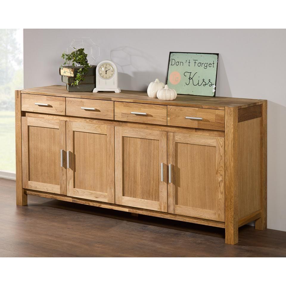Anrichte Royal Oak 4 Turig Esszimmerdekoration Schrankmobel
