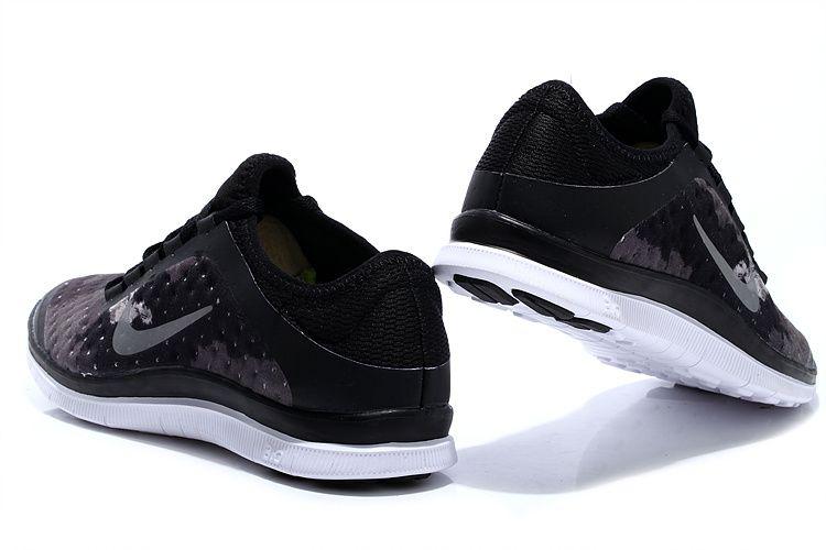 Nike Free 3.0 V7 Mens All Black fashion sneakers