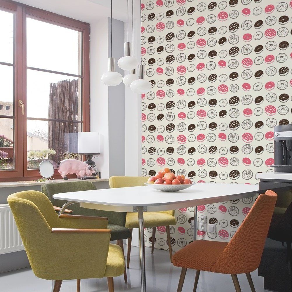 Tapeten für Küche – 23 frische Ideen | Moderne Tapeten | Pinterest ...