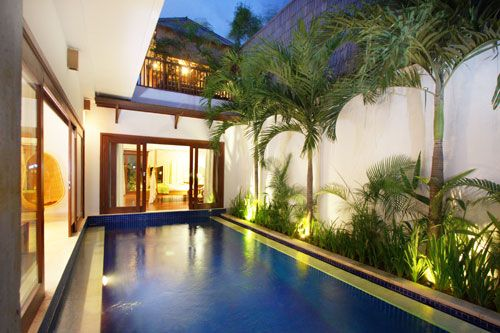Indoor Outdoor Courtyard Swimming Small Pool Design